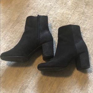 Old Navy Faux suede booties